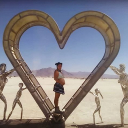 I Went to Burning Man Solo and Pregnant… and I'd Do It Again